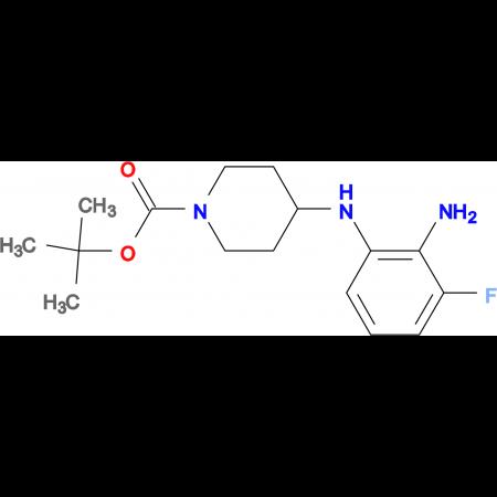 tert-Butyl 4-(2-amino-3-fluorophenylamino)piperidine-1-carboxylate