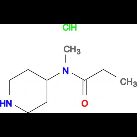 N-Methyl-N-(piperidin-4-yl)propionamidehydrochloride