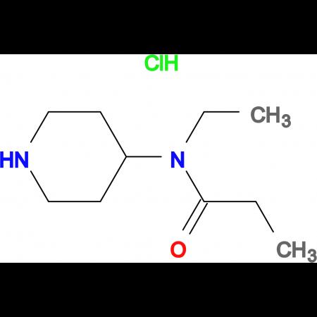 N-Ethyl-N-(piperidin-4-yl)propionamide hydrochloride