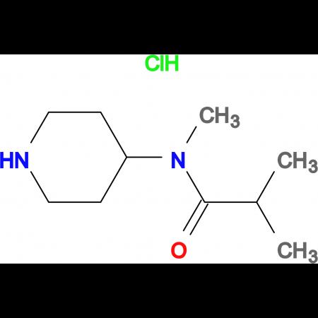 N-Methyl-N-(piperidin-4-yl)isobutylamidhydrochloride