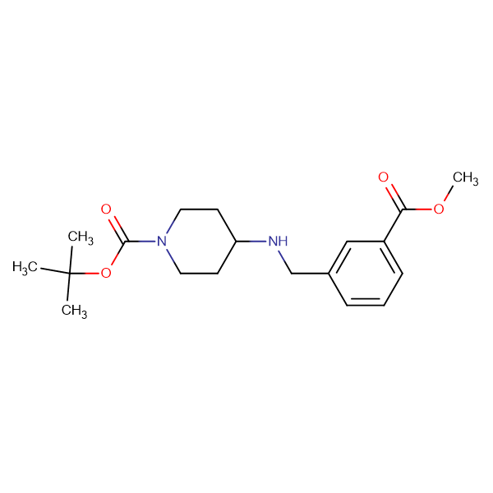 tert-Butyl 4-[3-(methoxycarbonyl)benzylamino]piperidine-1-carboxylate