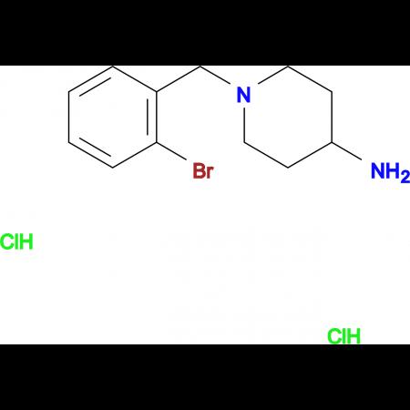 1-(2-Bromobenzyl)piperidin-4-amine dihydrochloride