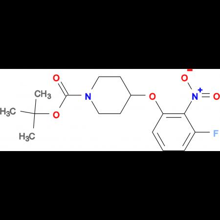 tert-Butyl 4-(3-fluoro-2-nitrophenoxy)piperidine-1-carboxylate