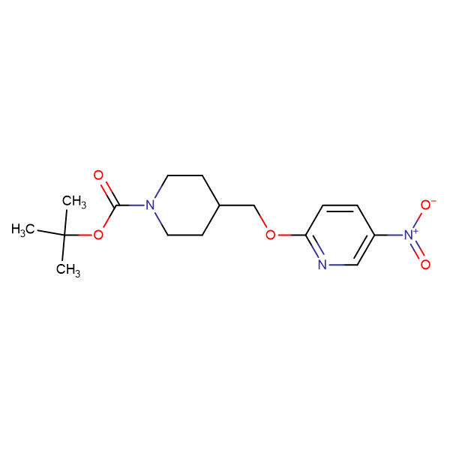 tert-Butyl 4-[(5-nitropyridin-2-yloxy)methyl]piperidine-1-carboxylate