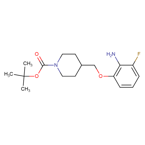 tert-Butyl 4-[(2-amino-3-fluorophenoxy)methyl]piperidine-1-carboxylate