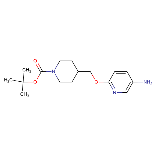 tert-Butyl 4-[(5-aminopyridin-2-yloxy)methyl]piperidine-1-carboxylate
