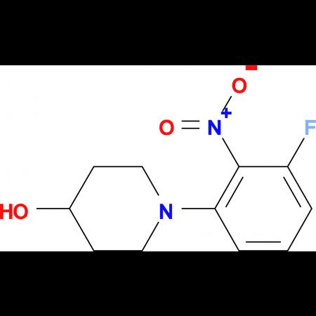 1-(3-Fluoro-2-nitrophenyl)piperidin-4-ol