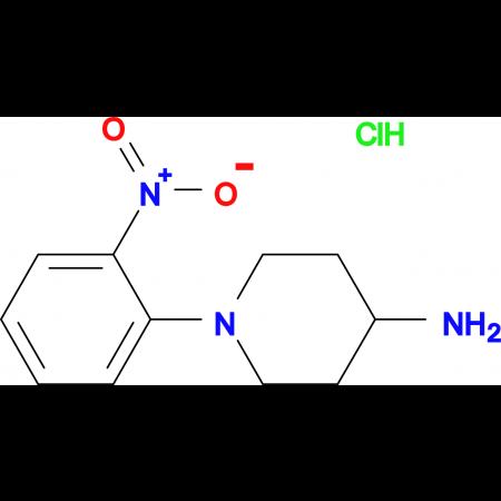 1-(2-Nitrophenyl)piperidin-4-amine hydrochloride