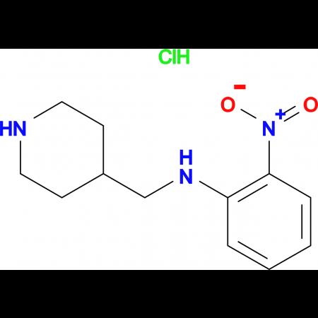 2-Nitro-N-(piperidin-4-ylmethyl)anilinehydrochloride
