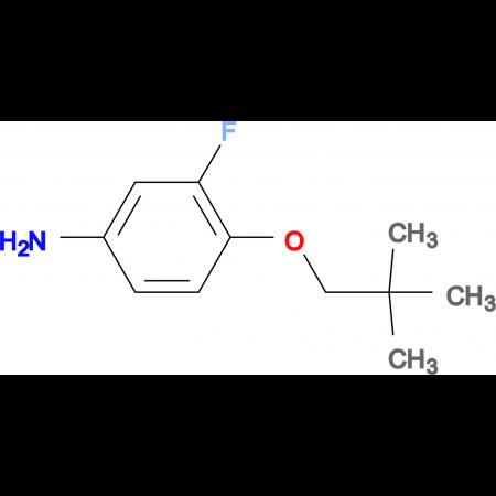 3-Fluoro-4-(neopentyloxy)aniline