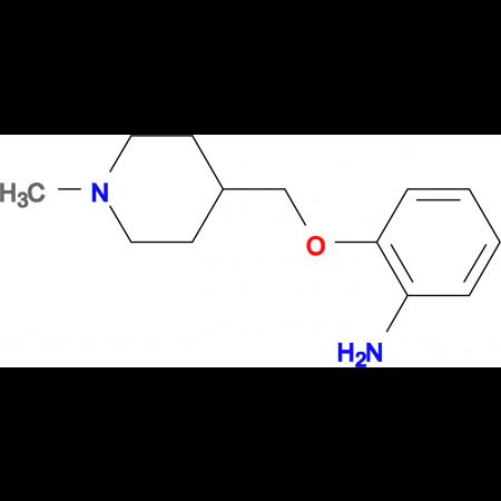 2-[(1-Methylpiperidin-4-yl)methoxy]aniline