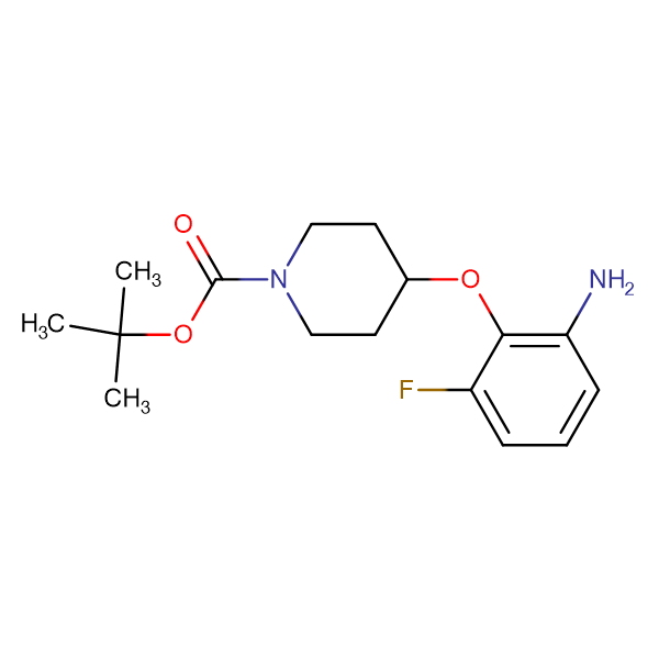 tert-Butyl 4-(2-amino-6-fluorophenoxy)piperidine-1-carboxylate