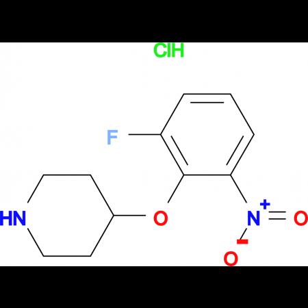 4-(2-Fluoro-6-nitrophenoxy)piperidine hydrochloride