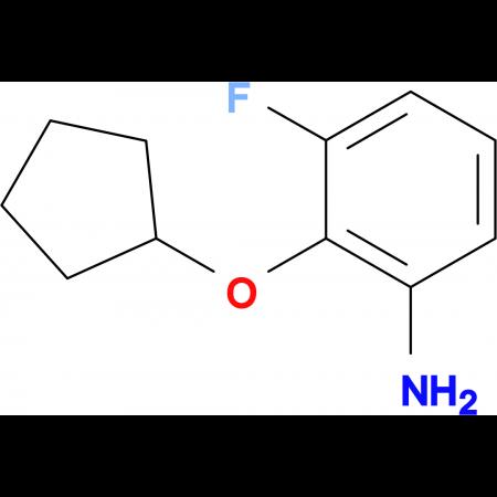 2-(Cyclopentyloxy)-3-fluoroaniline