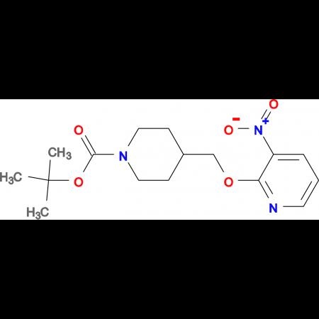 tert-Butyl 4-[(3-nitropyridin-2-yloxy)methyl]piperidine-1-carboxylate