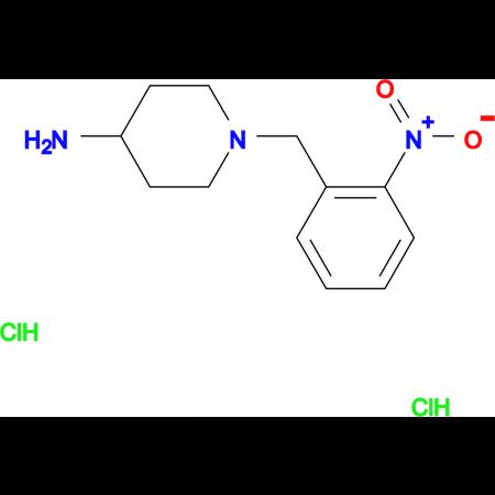 1-(2-Nitrobenzyl)piperidin-4-amine dihydrochloride