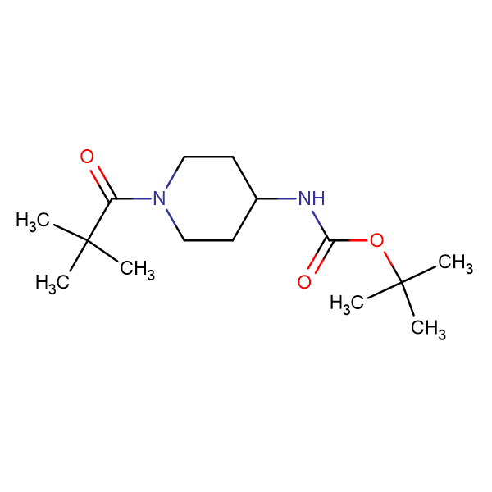tert-Butyl 1-pivaloylpiperidin-4-ylcarbamate