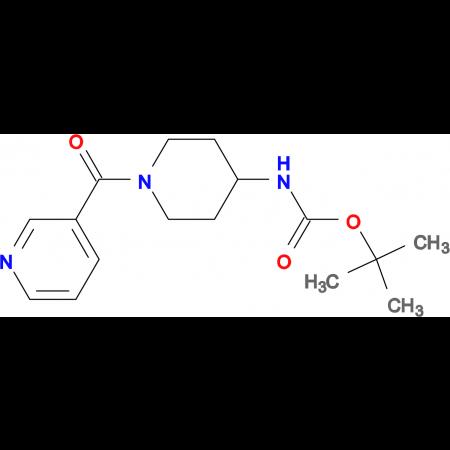 tert-Butyl 1-nicotinoylpiperidin-4-ylcarbamate