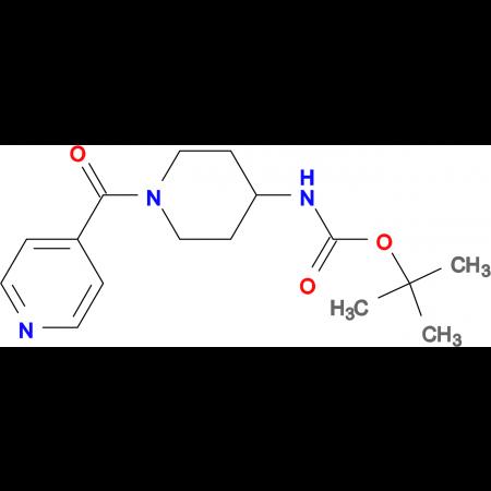 tert-Butyl 1-isonicotinoylpiperidin-4-ylcarbamate
