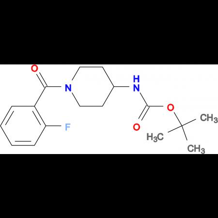tert-Butyl 1-(2-fluorobenzoyl)piperidin-4-ylcarbamate