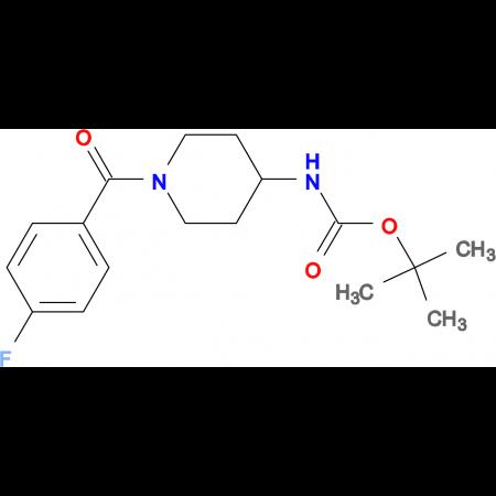 tert-Butyl 1-(4-fluorobenzoyl)piperidin-4-ylcarbamate