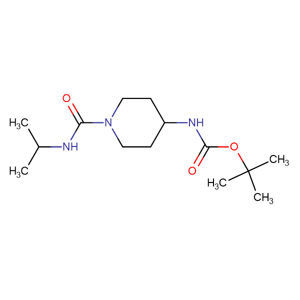 tert-Butyl 1-(isopropylcarbamoyl)piperidin-4-ylcarbamate