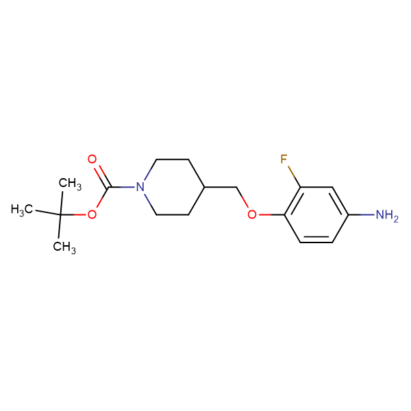 tert-Butyl 4-[(4-amino-2-fluorophenoxy)methyl]piperidine-1-carboxylate