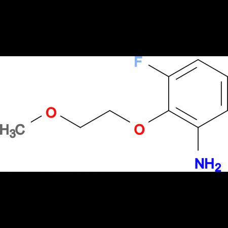 3-Fluoro-2-(2-methoxyethoxy)aniline