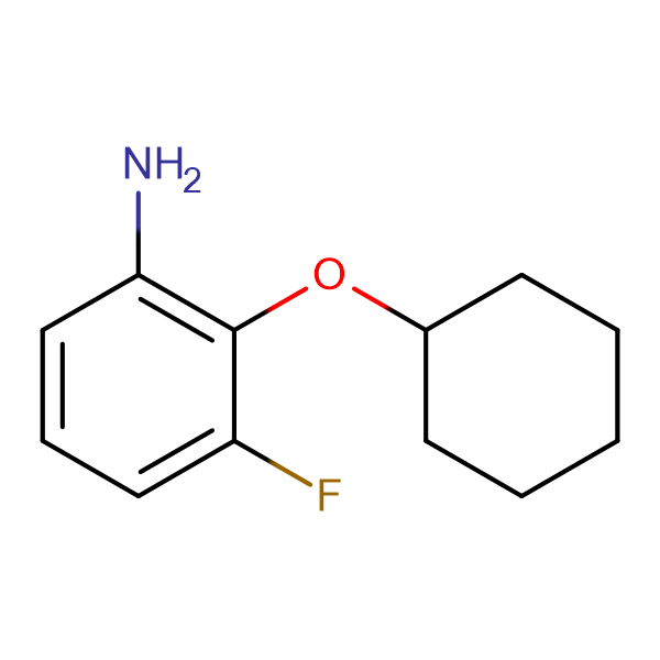 2-(Cyclohexyloxy)-3-fluoroaniline