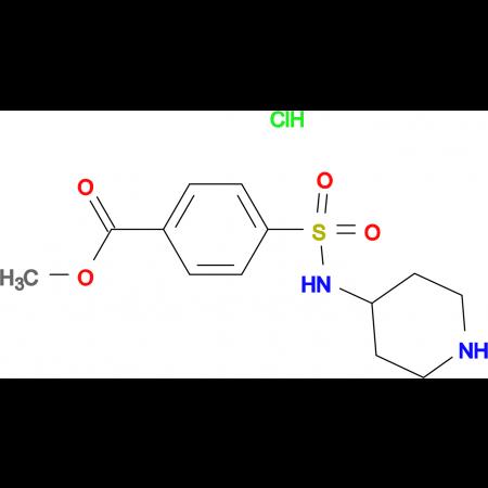 Methyl 4-(N-piperidin-4-ylsulfamoyl)benzoate hydrochloride