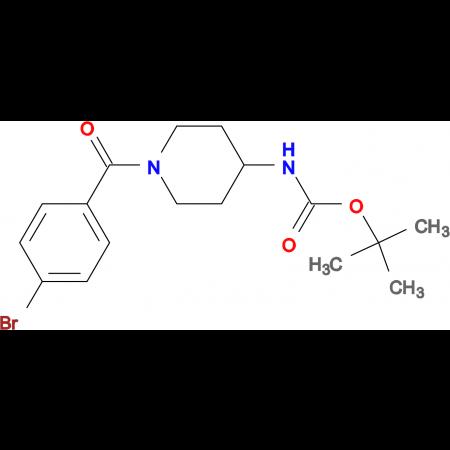 tert-Butyl 1-(4-bromobenzoyl)piperidin-4-ylcarbamate