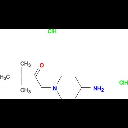 1-(4-Aminopiperidin-1-yl)-3,3-dimethylbutan-2-one dihydrochloride