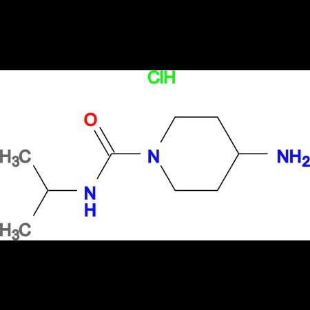 4-Amino-N-isopropylpiperidine-1-carboxamide hydrochloride