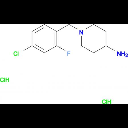 1-(4-Chloro-2-fluorobenzyl)piperidin-4-amine dihydrochloride
