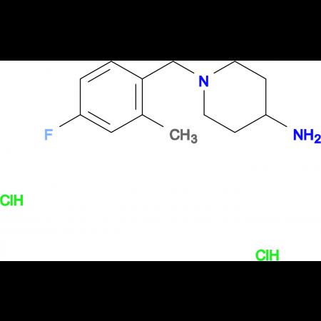 1-(4-Fluoro-2-methylbenzyl)piperidin-4-amine dihydrochloride