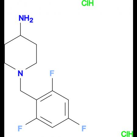 1-(2,4,6-Trifluorobenzyl)piperidin-4-amine dihydrochloride