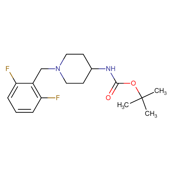 tert-Butyl 1-(2,6-difluorobenzyl)piperidin-4-ylcarbamate