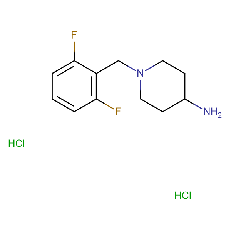 1-(2,6-Difluorobenzyl)piperidin-4-aminedihydrochloride