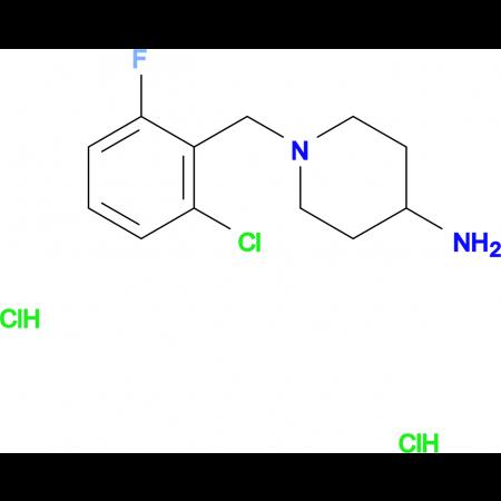 1-(2-Chloro-6-fluorobenzyl)piperidin-4-amine dihydrochloride