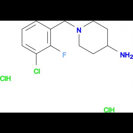 1-(3-Chloro-2-fluorobenzyl)piperidin-4-amine dihydrochloride