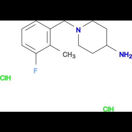 1-(3-Fluoro-2-methylbenzyl)piperidin-4-amine dihydrochloride