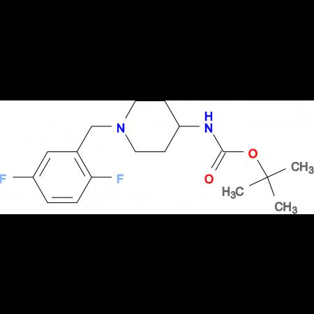 tert-Butyl 1-(2,5-difluorobenzyl)piperidin-4-ylcarbamate