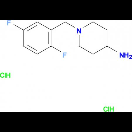 1-(2,5-Difluorobenzyl)piperidin-4-aminedihydrochloride