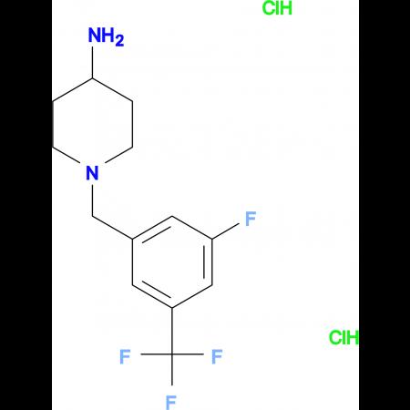1-[3-Fluoro-5-(trifluoromethyl)benzyl]piperidin-4-amine dihydrochloride
