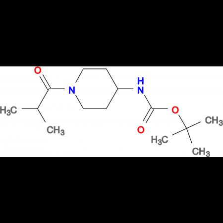 tert-Butyl 1-isobutyrylpiperidin-4-ylcarbamate