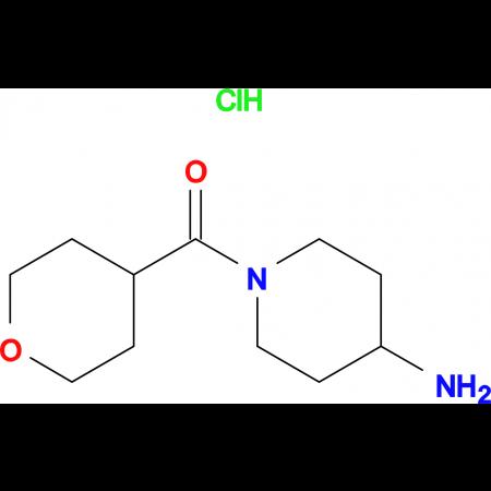 (4-Aminopiperidin-1-yl)(tetrahydro-2H-pyran-4-yl)methanone hydrochloride