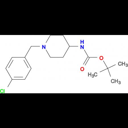 tert-Butyl 1-(4-chlorobenzyl)piperidin-4-ylcarbamate