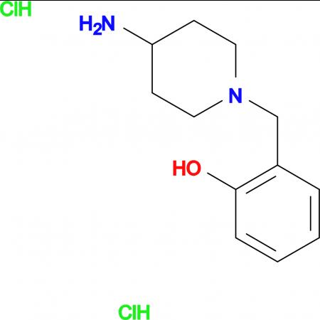 2-[(4-Aminopiperidin-1-yl)methyl]phenoldihydrochloride