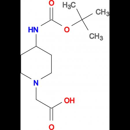 2-[4-(tert-Butoxycarbonylamino)piperidin-1-yl]acetic acid