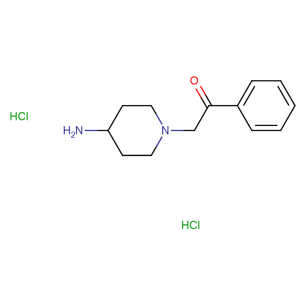 2-(4-Aminopiperidin-1-yl)-1-phenylethanone dihydrochloride